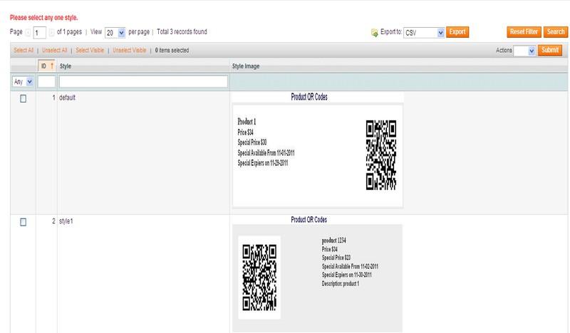 QR Code For Magento